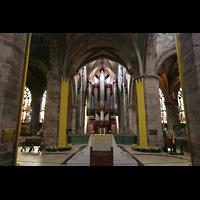 Edinburgh, St. Giles' Cathedral, Vierungm, Altar und Orgel
