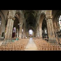 Edinburgh, St. Giles' Cathedral, Innenraum / Hauptschiff in Richtung Chor