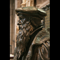 Edinburgh, St. Giles' Cathedral, John Knox Skulptur