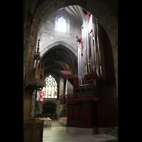 Edinburgh, St. Giles' Cathedral, Orgel und Seitenschiff