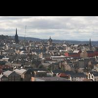 Edinburgh, St. Giles' Cathedral, Ansicht vom Arthur's Seat aus