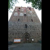 Gransee, Ev. Stadtkirche St. Marien, Fassade