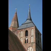 Gransee, Ev. Stadtkirche St. Marien, Turmhelme