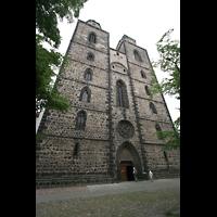 Wittenberg, Stadtkirche, Fassade