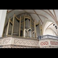 Wittenberg, Stadtkirche, Orgelempore