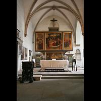 Wittenberg, Stadtkirche, Chorraum mit Altar