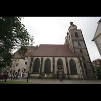 Wittenberg, Stadtkirche, Seitenansicht