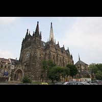 Leipzig, Peterskirche (Kapellenorgel), Außenansicht