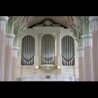 Leipzig, Nikolaikirche, Mittlerer Teil des Orgelprospekts
