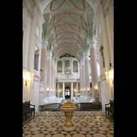 Leipzig, Nikolaikirche, Blick vom Chorraum zur Orgel
