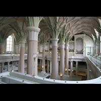Leipzig, Nikolaikirche, Blick von der Seitenempore zur Orgel