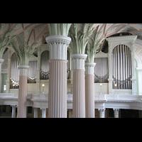 Leipzig, Nikolaikirche, Säulen und Orgel