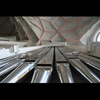 Leipzig, Nikolaikirche, Pedalturm-Perspektive
