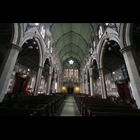 London (Kensington), St. Mary Abbots, Innenraum / Hauptschiff in Richtung Hauptportal