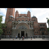 London, Westminster Cathedral, Fassade