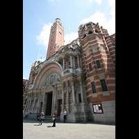 London, Westminster Cathedral, Fassade mit Portal