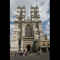 London, Westminster Abbey, Doppeltürme