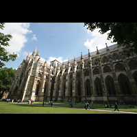 London, Westminster Abbey, Seitenschiff