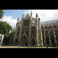 London, Westminster Abbey, Querhaus