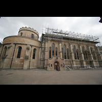 London, Temple Church, Seitenansicht