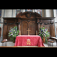 London, Temple Church, Altar