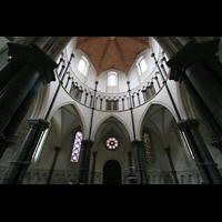 London, Temple Church, Rundkirche von innen