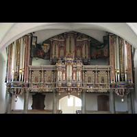 Basedow, Dorfkirche, Orgelprospekt