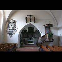 Basedow, Dorfkirche, Innenraum