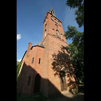 Basedow, Dorfkirche, Turm