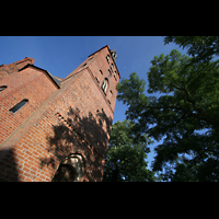Basedow, Dorfkirche, Kirchturm