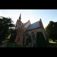 Basedow, Dorfkirche, Ansicht vom Chor