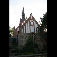 Basedow, Dorfkirche, Chor