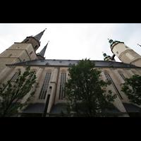 Halle (Saale), Marktkirche unserer Lieben Frauen (Chororgel), Seitenansicht