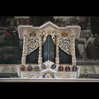 Halle (Saale), Marktkirche unserer Lieben Frauen (Hauptorgel), Prospekt der Chororgel