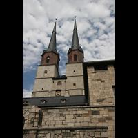 Halle (Saale), Marktkirche unserer Lieben Frauen (Hauptorgel), Türme