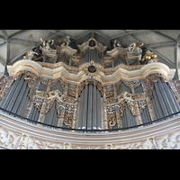 Halle (Saale), Marktkirche unserer Lieben Frauen (Chororgel), Prospekt der großen Orgel