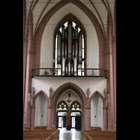 Köln, St. Agnes, Orgelempore