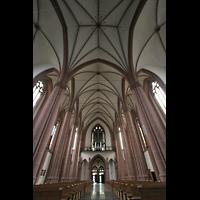 Köln, St. Agnes, Vierung und Blick zur Orgel