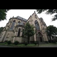 Köln, St. Agnes, Chor und Seitenschiff