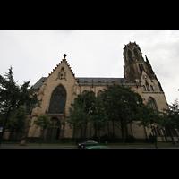 Köln, St. Agnes, Seitenansicht