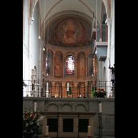 Köln, Basilika St. Gereon (Kryptaorgel), Langchor