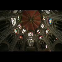 Köln, Basilika St. Gereon (Kryptaorgel), Oktogon mit Orgel
