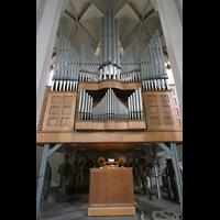 Köln, St. Paul, Orgel mit Spieltisch