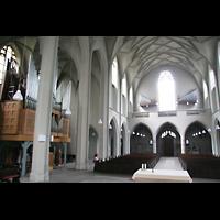 Köln, St. Paul, Orgel mit altem Fernwerk