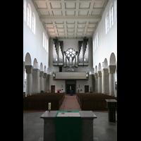 Köln, St. Maternus, Blick vom Chor zur Orgel
