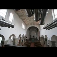 Köln, St. Maternus, Spanische Trompeten und Blick zum Chor