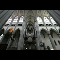 Altenberg, Dom, Querhaus mit Orgel