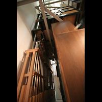Altenberg, Dom, Erweiterung der Orgel von 2007: Pfeifen der Kontaposaune
