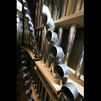 Altenberg, Dom, Tuba 16' und 8' im neuen Hochdruckwerk