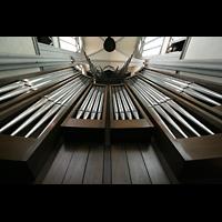 Altenberg, Dom, Blick vom Spieltisch nach oben